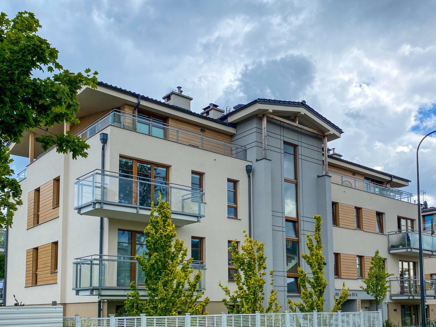 Budynek wielorodzinny,  Sopot ul. Łokietka,                  II Etap