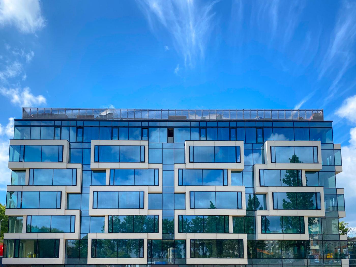 Budynek biurowy,         Gdynia ul. Partyzantów