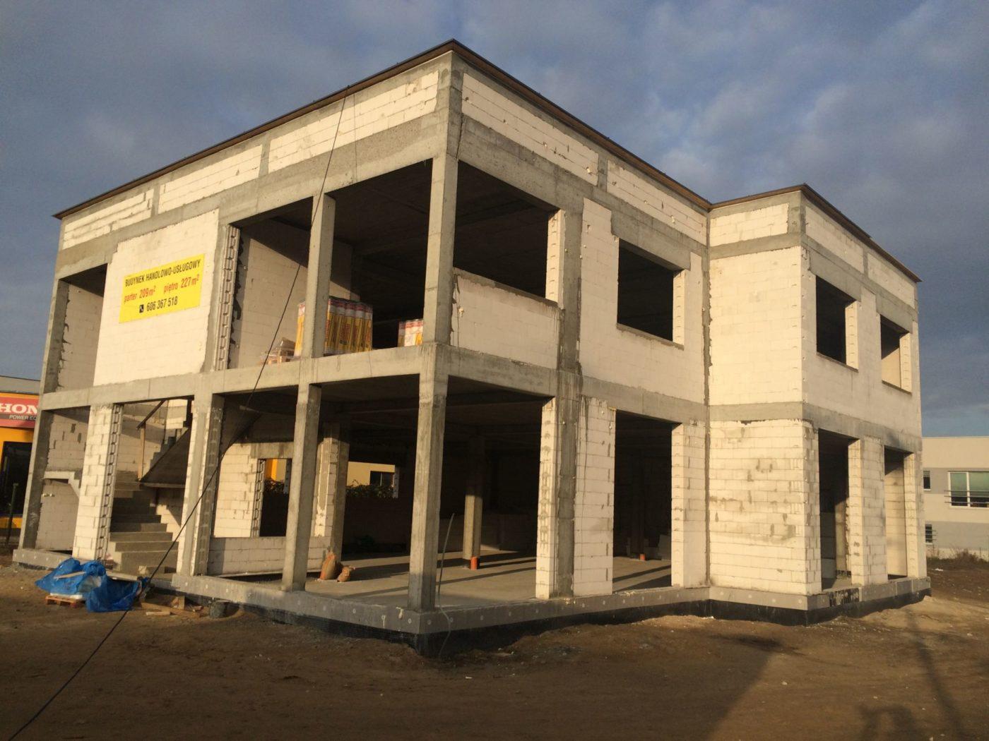 Budynek Usługowy - Rumia